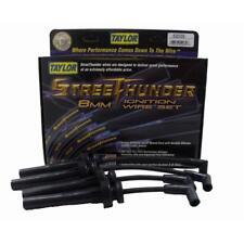 Taylor Spark Plug Wire Set 52035; Street Thunder 8mm Black for Dodge 4cyl