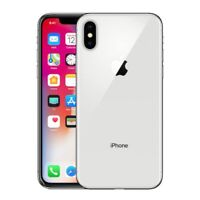 Apple iPhone X - 64GB - Silver (Verizon) A1865 (CDMA GSM) - NICE