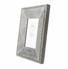 GISELA GRAHAM PICTURE PHOTO FRAME DUCK EGG DISTRESSED WOOD SHABBY CHIC HOME GIFT