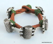 ANCIENT ANTIQUE ETHNIC TRIBAL OLD SILVER BRACELET INDIA