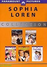 5 Filme mit Sophie Loren u.a Die Dame und der Killer, Prinzessin Olympia NEU OVP