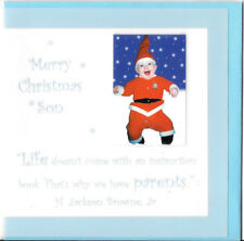 Christmas Card Amanda Hancocks Merry Christmas Son 5x5 Card UK Import