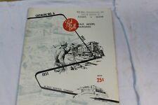 Vintage 1951 Red Ball Scale Model Railroad Train Catalog No 6    (2)