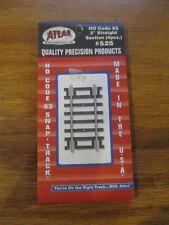 "Code 83 HO 2"" Straight Track (4pk) Atlas 525 w Free ship!"