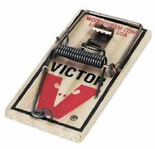 Victor M040 Metal Pedal Mouse Traps 72 Pack Victor Snap Trap Wood Mice Traps