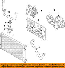 VW VOLKSWAGEN OEM 11-15 Eos-Radiator Cooling Fan Blade 1K0959455ET