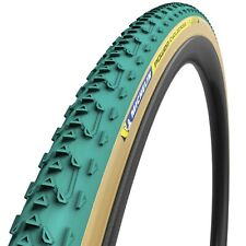 Michelin Power Cyclocross Jet Tire - 700 x 33 Tubular Folding Green/Tan - RARE!
