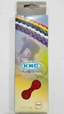 NEW! Original KMC Z410 single speed RED chain