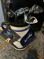 Rare Phil Mickelson KMPG Mini Golf Bag and Clubs