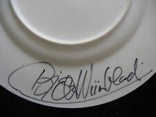 Rosenthal PIATTO DI NATALE 1975 mano firmata dall'artista! (la mia POS. 1975-1)