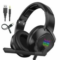 PROFESSIONAL PC Gaming Headset 3.5mm K19 Onikuma PS4/XBOX Noise Cancelling MIC