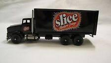 "Winross ""Slice"" Mandarin Orange Soda 27' Van Straight Truck"