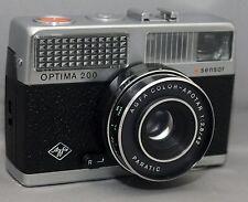 Vintage AGFA OPTIMA 200 35mm Film Camera COLOR-APOTAR 2.8 42mm Lens CLEAN!
