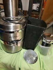 Jack LaLanne's TriStar Power Juicer Pro E-1181 Stainless SteelLightly Used!