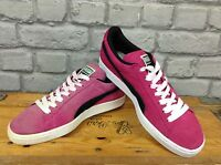PUMA UK 6 EU 39 LADIES PINK SUEDE TRAINERS RRP £55