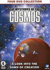 THE MYSTERIES OF THE COSMOS, 4 DVD BOX SET, IN THE BEGINNING, EARTH VIEW & MORE