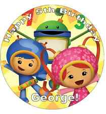 "Team Umizoomi Cake Topper Personalised 7.5"" Edible Wafer Paper"