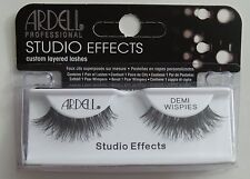 (LOT OF 3) Ardell Studio Effects DEMI WISPIES  Eyelashes Black Invisibands