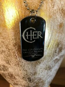 Unique Collectible Cher The Colosseum Caesars Palace Las Vegas Metal Necklace