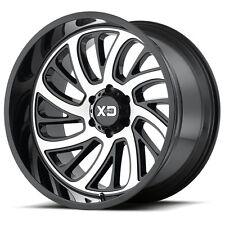 20 Inch Black Wheels Rim Chevy GMC Truck Tahoe 5 Lug XD Series XD826 Surge 20x10
