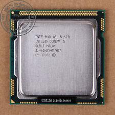 Intel Core i5-670 de 3.46 GHz (bx80616i5670) 1156 LGA slblt CPU procesador 2.5gt/s