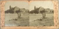 Gerusalemme Monte Dei Oliva Eglise Foto Jean Andrieu Stereo Vintage Albumina