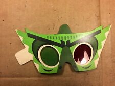"""Vintage Magic Mystic 3D Glasses from the 1961 Movie """"The Mask"""" very rare"""