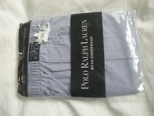 Polo Ralph Lauren Boys Blue 100% Cotton Underwear size 152/12 Years Old