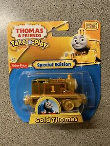 Special Edition Take n Play Gold Thomas Tank Engine & Friends 70th Anniversary