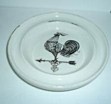 Lamberton Scammell China Restaurant Ware Rooster Weathervane Dish Ashtray Signed