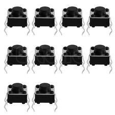 10pcs Tactile Push Button Switch Tact Switch for Arduino 4P DIP 6X6X5mm