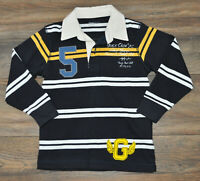 Gap Kids Boys Navy Polo Shirt Casual Top Jumper Collar Kids 4-5 Years