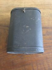 Antique Vintage Wall Telephone Steel Battery Box Part with Original Japanning