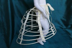 Crinoline  for  antique  fashion doll  16-18''.