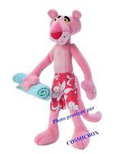 Peluche La PANTHERE ROSE à la plage en vacances jemini the PINK PANTHER plush