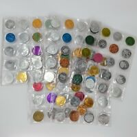 Lot of (105) Vintage Mardi Gras Doubloon Coins Token Collection 60s, 70s, & 80s