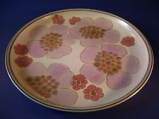 Denby Pottery Gypsy Dinner Plate Retired England Retro Vintage As Is