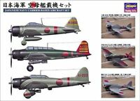 Hasegawa 1/350 IJN Carrier-Based Aircraft Set Model Kit NEW from Japan F/S