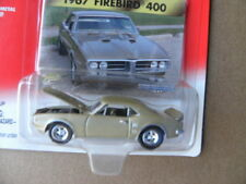 1967 PONTIAC FIREBIRD 400   2000 JOHNNY LIGHTNING MUSCLE CARS U.S.A.  1:64 SCALE
