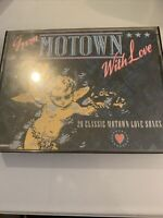 From Motown with Love - 2 x compilation Cassette Tapes (K-Tel, 1987)