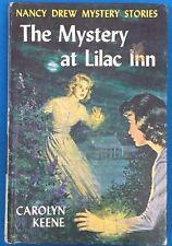NANCY DREW The Mystery at Lilac Inn by Carolyn Keene (c) 1961 G&D HC