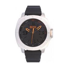 Hugo Boss Orange Men's 1513105 Stainless Steel Case Rubber Strap Watch