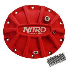 Dana 35 Nitro Xtreme Red Aluminum Differential Diff Cover Jeep MJ TJ WJ XJ YJ