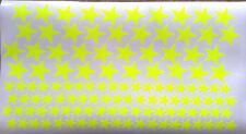 Aufkleber Bogen Sterne Stars Stern Neon