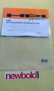 HPI A166 Diff Thrust Washer (2.2x6mm)(2 PCs)