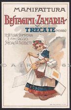 PUBBLICITARIA TESSITURA FAZZOLETTI BESTAGINI & ZANARIA - TRECATE (NO) Cartolina