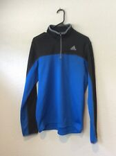 ADIDAS 1/4 ZIP PULLOVER Running Training Athletic SZ M Men's C18-115