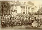 KNIGHTS TEMPLAR 1889 CONCLAVE BOSTON COMMANDERY SKULL & CROSSBONES MOUNT VERNON