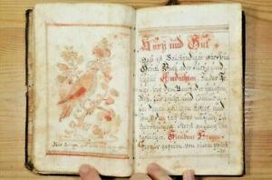 Gebetbüchlein, koloriert, 1771, handgeschrieben, christlich, Religion, Gebete