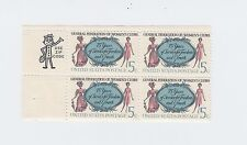 block of 4 WOMENS CLUBS stamps *BUY ONE GET ONE FREE* - Scott #1316 MNH 5c US